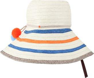 ba730f4faf5 SOPHIE ANDERSON LTD Palomino Wide Brim Striped Hat