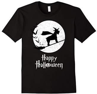 Witch STANDARD SCHNAUZER Dog T-shirts Halloween Costume