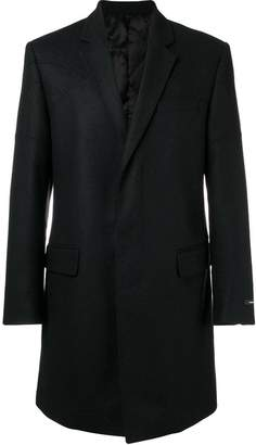 Les Hommes single-breasted coat