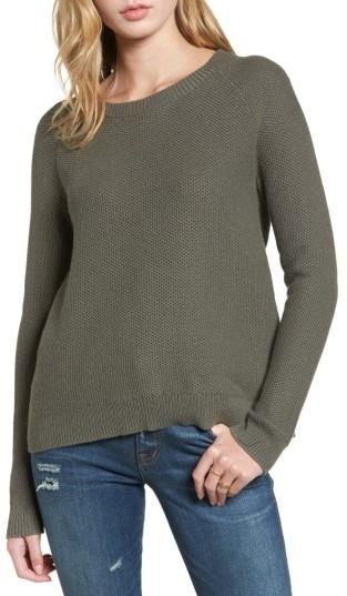 Women's Madewell Cross Back Knit Pullover