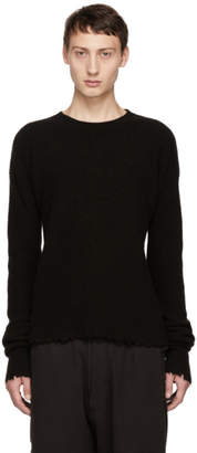 Unravel Brown Boiled Rib Crewneck Sweater