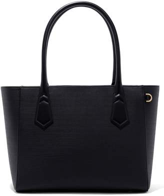 Dagne Dover Signature Classic Coated Canvas Tote
