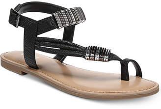 Bar III Vera Flat Sandals, Created for Macy's Women's Shoes