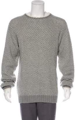 Loro Piana Intarsia Knit Cashmere Sweater