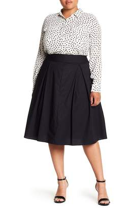 Wilson Rebel X Angels Full Pleated Skirt (Plus Size)
