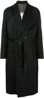 Wooyoungmi belted long coat