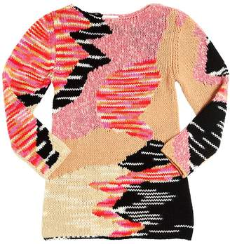 Missoni Wool & Cashmere Tricot Sweater Dress
