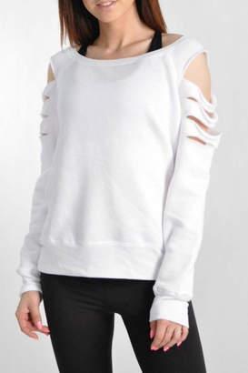 Jala Clothing Laser Cut Sweatshirt