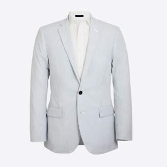 J.Crew Factory Thompson suit jacket in seersucker