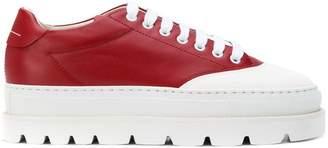 MM6 MAISON MARGIELA platform lace-up sneakers
