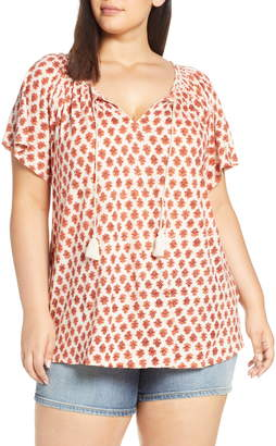 1cada025210 Lucky Brand Plus Size Tops - ShopStyle