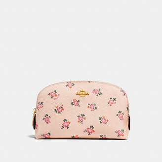 Coach Cosmetic Case 17 With Floral Bloom Print