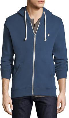 Knowledge Cotton Apparel Men's Basic Logo Long-Sleeve Hoodie