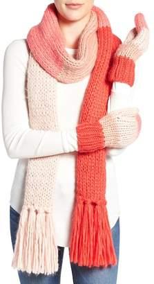 Kate Spade Knit Colorblock Scarf
