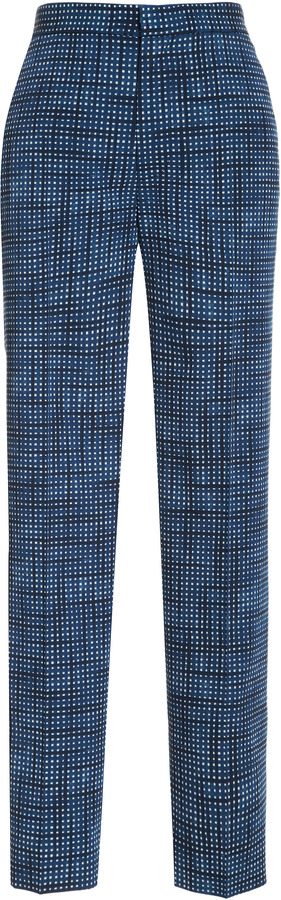 Marc Jacobs Printed Wool Pants