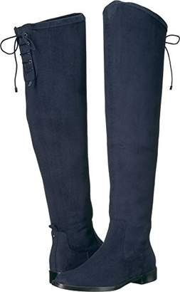 Kenneth Cole Reaction Women's Wind Chime Over The Knee Stretch Low Heel Winter Boot