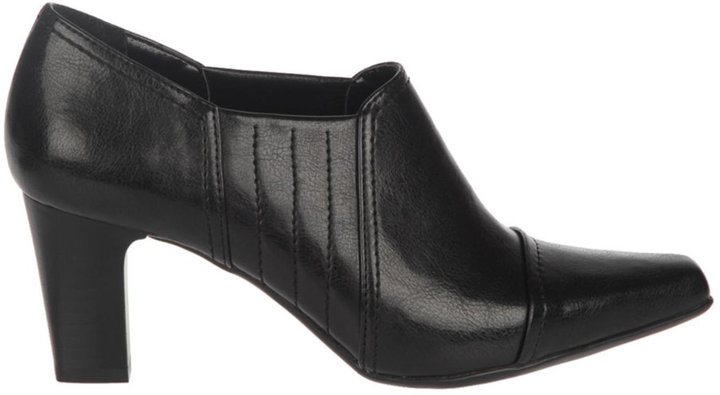 FRANCO SARTO Tanya Leather High-Heel Ankle Boots