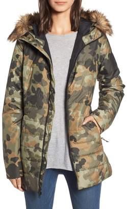 The North Face Harway Heatseeker(TM) Water-Resistant Jacket with Faux Fur Trim