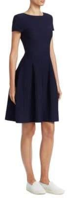 Emporio Armani Knit Pointelle Dress