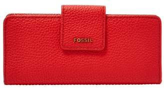 Fossil Madison Slim Clutch Wallet Caribbean