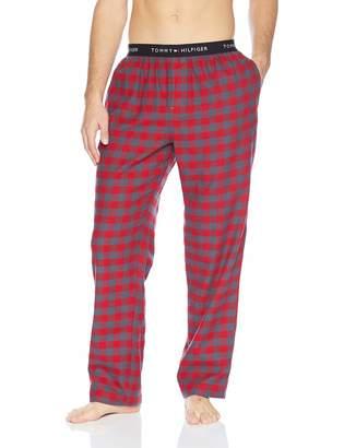 cbdf548b405 Tommy Hilfiger Men s 100% Cotton Flannel Lounge Pant