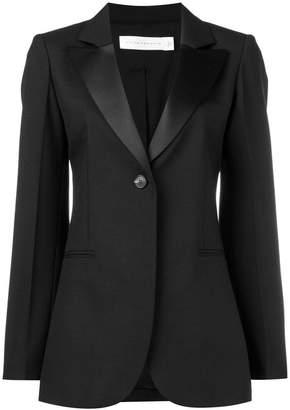 Victoria Beckham sheen lapel blazer