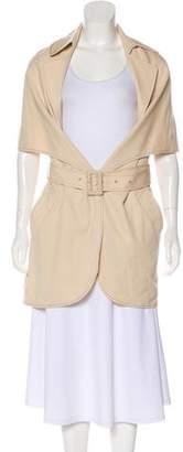 Maison Margiela Wool Knee-Length Coat