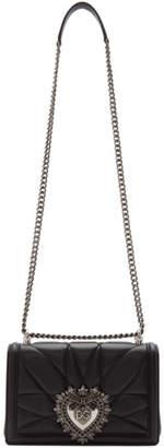 Dolce & Gabbana Black Medium Devotion Bag