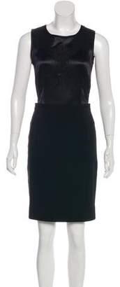 Dolce & Gabbana Sleeveless Silk-Blend Dress