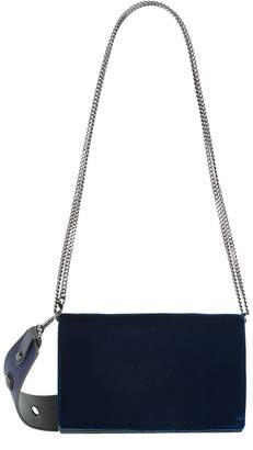 Diane von Furstenberg Velvet Soiree Cross Body Bag