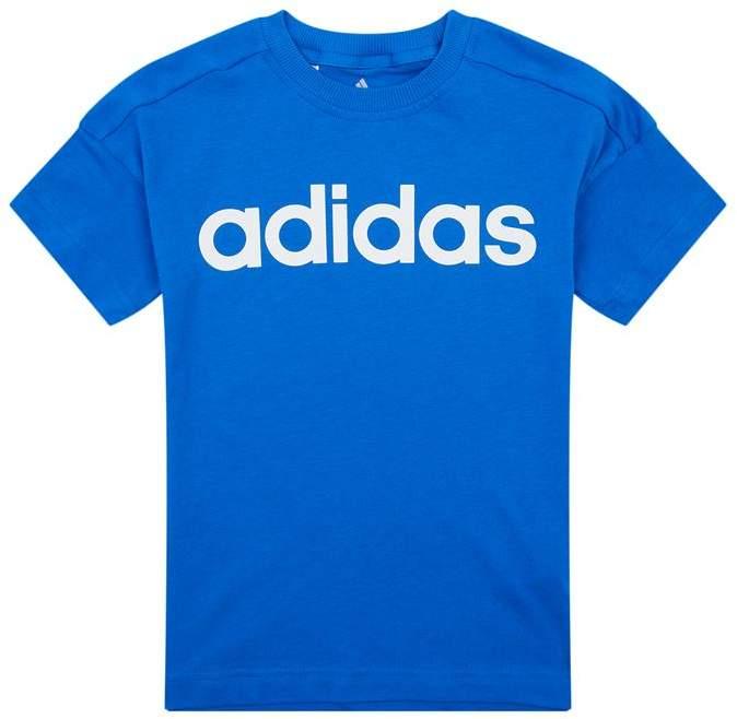 Cotton Logo Print T-Shirt