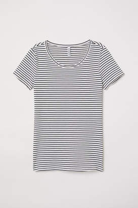 H&M Jersey Top - White