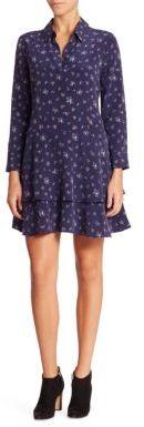Equipment Natalia Floral-Print Silk Shirtdress $398 thestylecure.com
