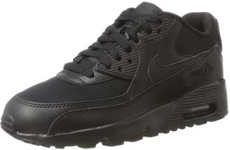 Nike Youths Air Max 90 Mesh Leather Trainers 36 EU