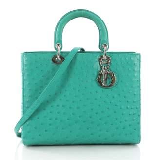 abd2f0dd6cfd Christian Dior Green Handbags - ShopStyle