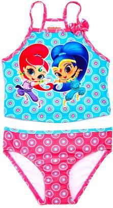 Nickelodeon Dream Wave x Girls' Shimmer and Shine Tankini Swimsuit