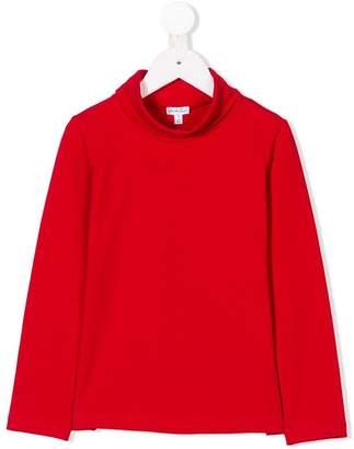 Piccola Ludo cowl-neck sweatshirt