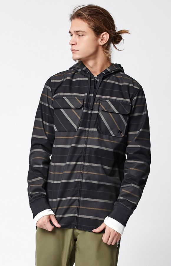 AnalogAnalog Integrate Hooded Riding Flannel Jacket