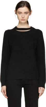Rag & Bone Black Tori Crewneck Sweater