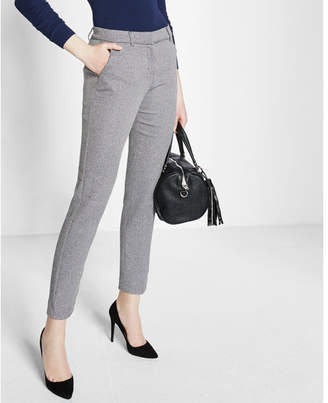Express mid rise tweed columnist ankle pant