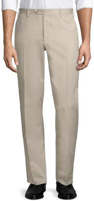 Larusmiani Fitted Cotton Pants