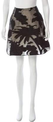 Blumarine Embroidered Mini Skirt