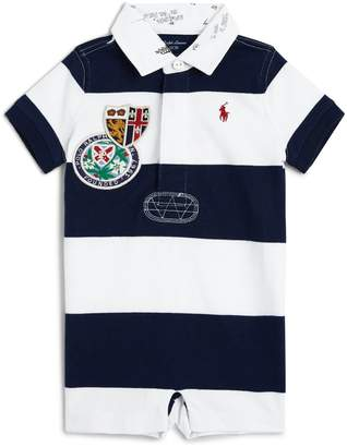 Ralph Lauren Striped Polo Shirt Playsuit
