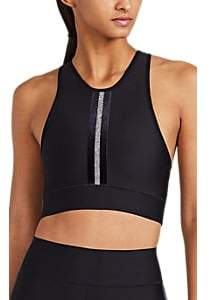 Ultracor Women's Tux Crystal-Embellished Bra Top - Black