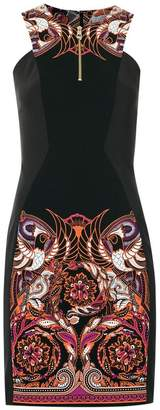 Versace Baroque patterned dress