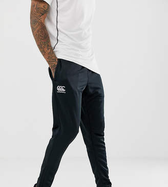 Canterbury of New Zealand Tapered Stretch Joggers In Black Exclusive To ASOS