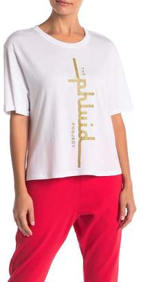 THE PHLUID PROJECT Cropped Logo Tee