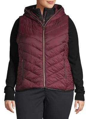 Andrew Marc Performance Plus Quilted Puffer Vest