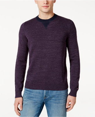 Tommy Hilfiger Men's Space-Dyed Sweater $69.50 thestylecure.com