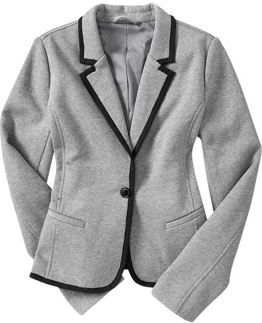 Women's Jersey-Fleece Blazers